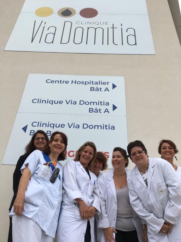 Equipe Clinique Via Domitia